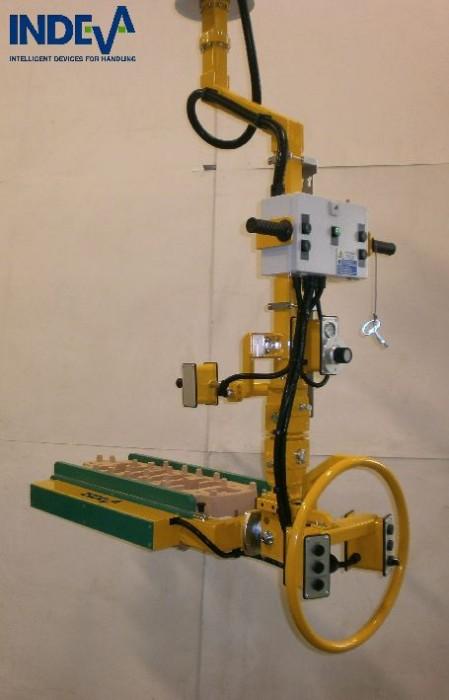 Manipulators For Lifting : Casting manipulator aspol